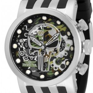 NWT 34680 Invicta Punisher watch LE 174/3000